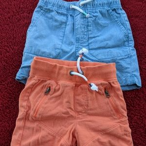 2 Pair of Cat and Jack shorts